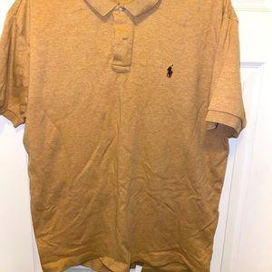 Tan/Brown Ralph Lauren Polo Shirt